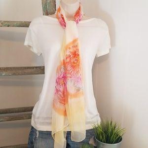 NEW 100% Silk Fashion Scarf